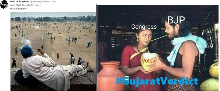 How Social media reacting on Gujarat Verdict will make your day ! #GujaratVerdict