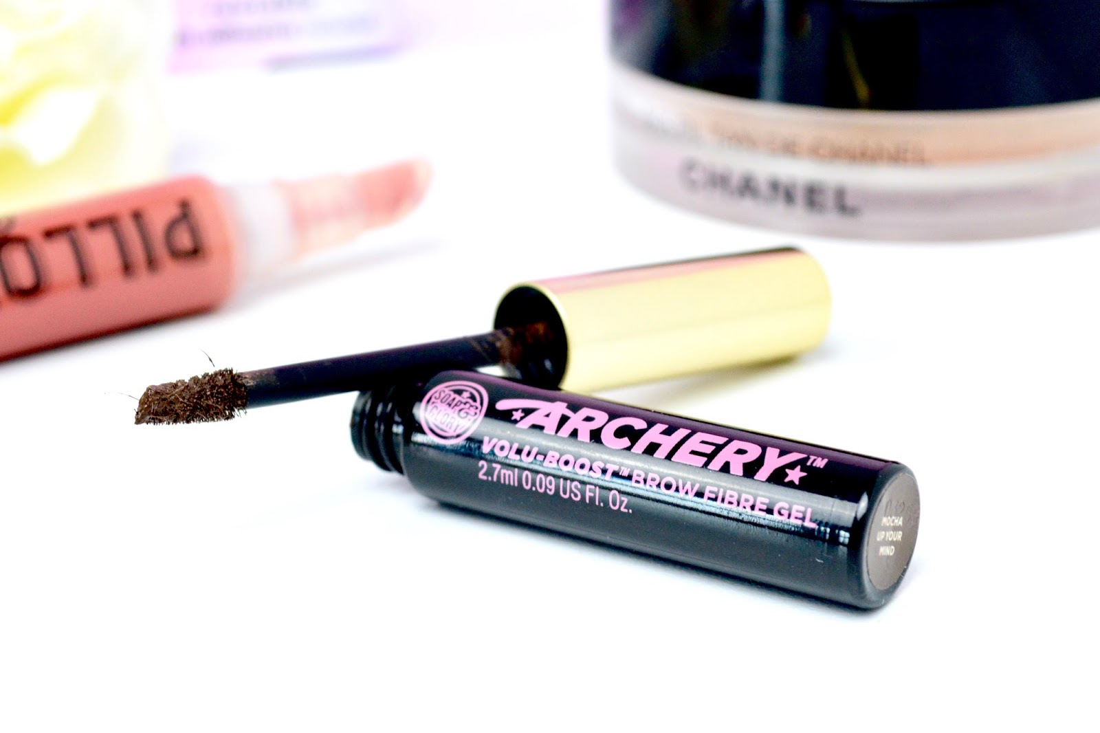 Beauty, makeup, Monthly Favourites, Monthly Beauty Favourites, Soap and Glory, Chanel, La Roche Posay, Girls With Attitude, Girls With Attitude Fairytale Brushes, False Lashes, Lipgloss, Skincare