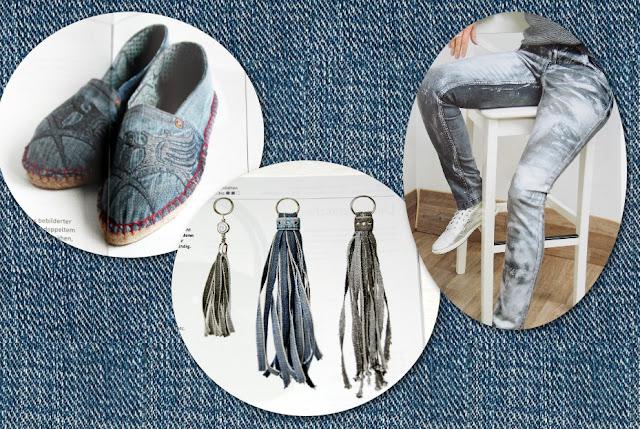 """stitchydoo: Projekte aus dem Schweizer Magazin """"manuell"""" zum Thema Jeans"""