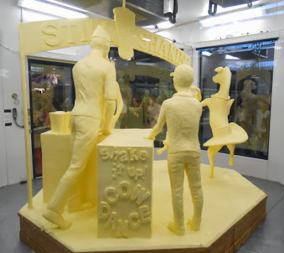 Butter Sculpture at Pennsylvania Farm Show 2014