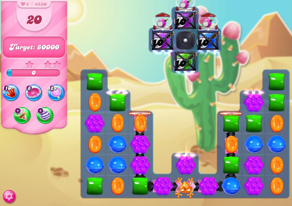 Candy Crush Saga level 4530