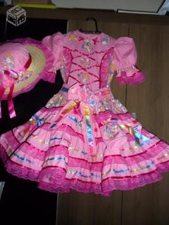 Vestido para Festa Junina 2012