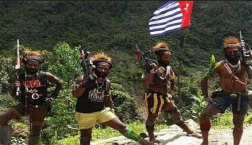 Anggota Kelompok Kriminal Bersenjata (KKB) Papua inilah yang diburu TNI - POLIRI atsa aksi terbaru mereka di Papua. Sumber Foto Warta Kota Tribun NEws