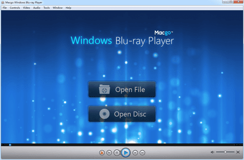 Macgo Blu-ray Player for Windows Main
