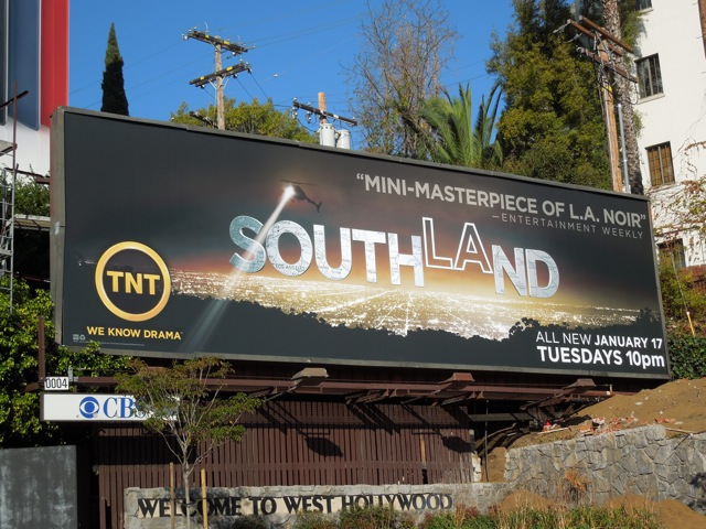 Southland season 4 TNT billboard