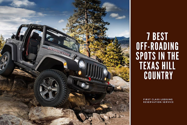 7 best off-roading spots in Texas Hill Country blog cover image