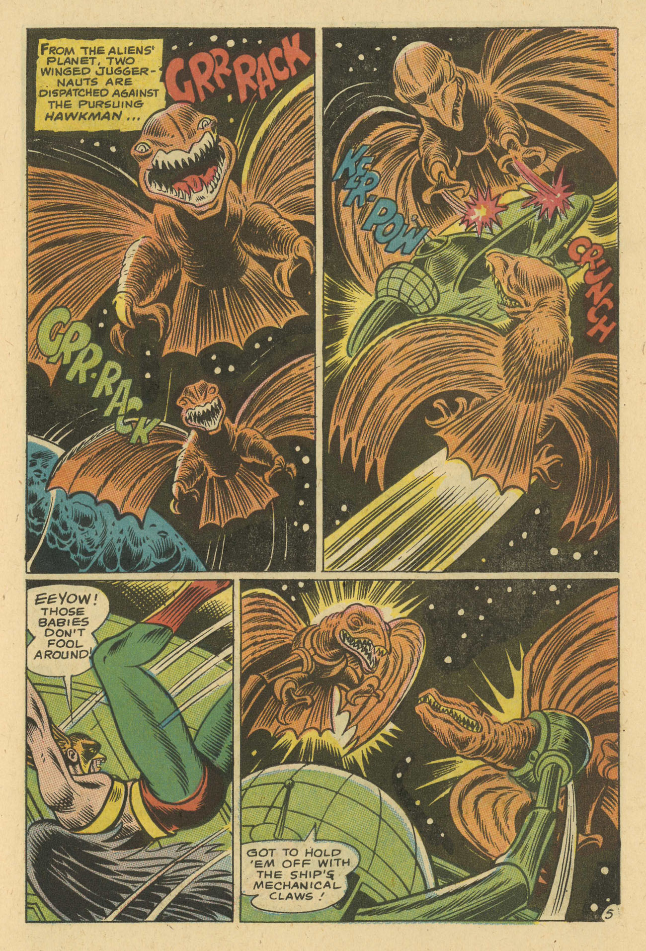 Hawkman (1964) issue 24 - Page 7