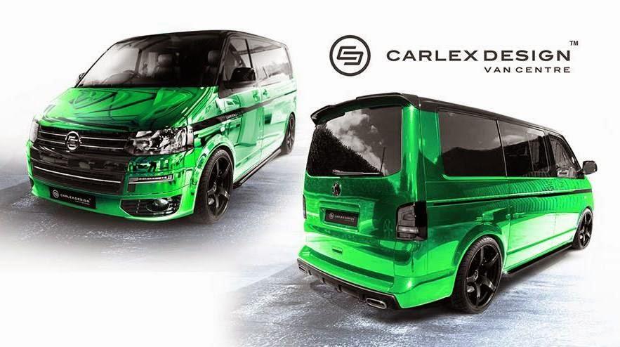 vw t5 tuning giftgr ner luxusliner von carlex design. Black Bedroom Furniture Sets. Home Design Ideas