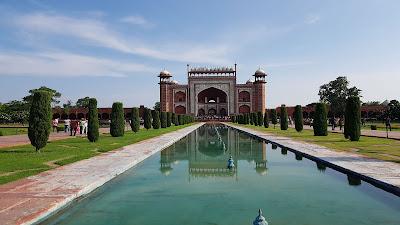 il complesso del Taj Mahal
