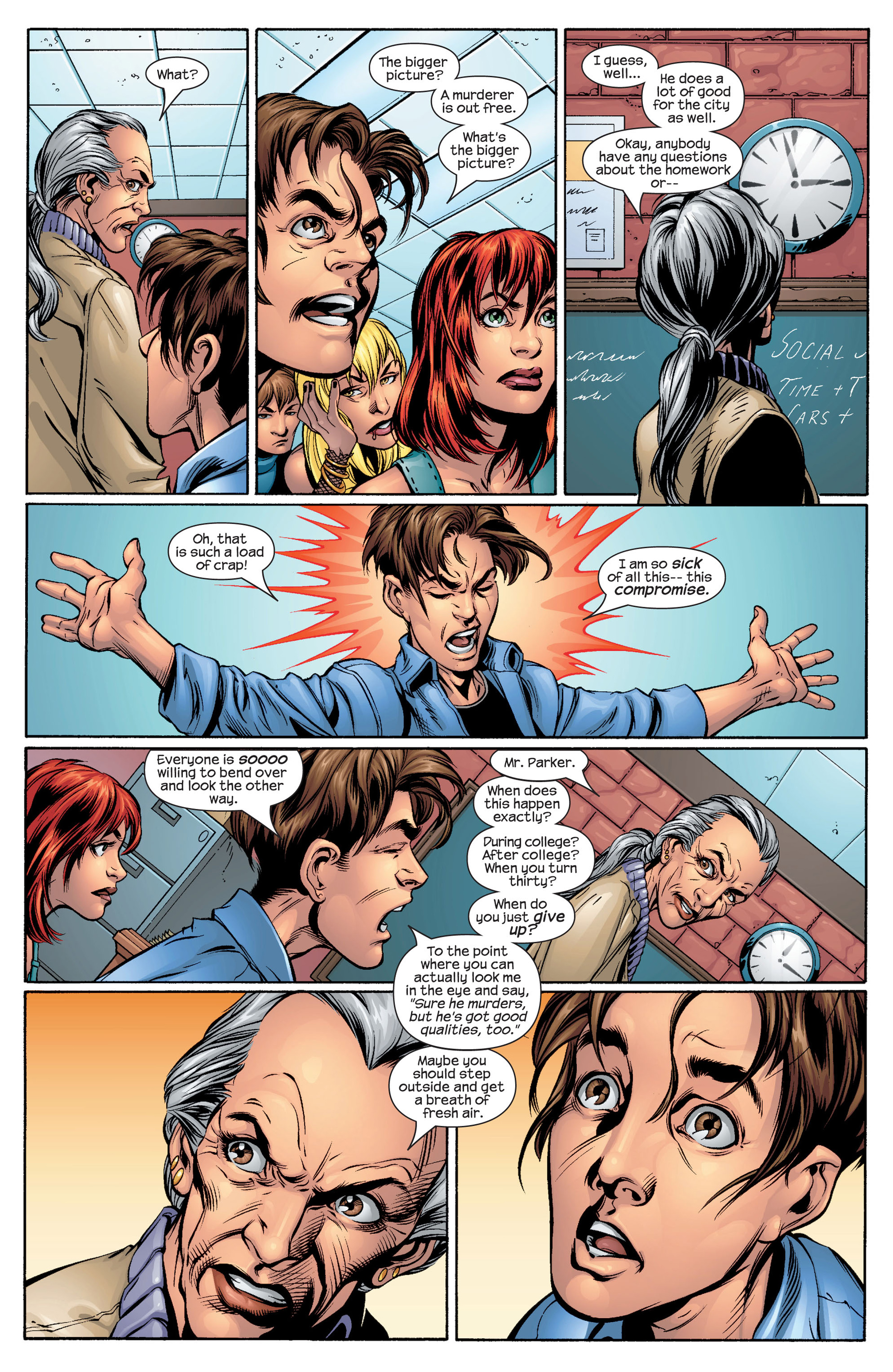 Read online Ultimate Spider-Man (2000) comic -  Issue #48 - 10