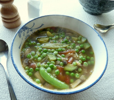 Minestrone di Piselli or Summer Pea Soup