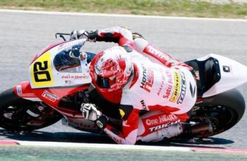 MotoGP Sepang 2017, Pebalap Indonesia, Turun Di Moto 2