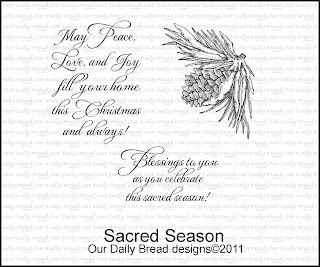 Our Daily Bread Designs - Stamps Sacred Season