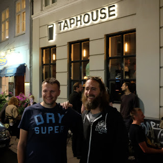 Greg Kock og Jan K Hansen, Stone Brewing på Taphouse