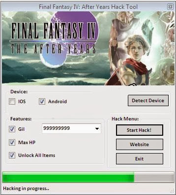Final Fantasy IV After Years Hack