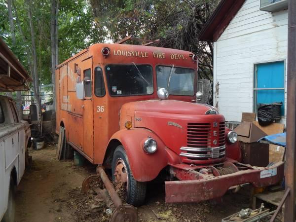 1953 REO Fire Truck