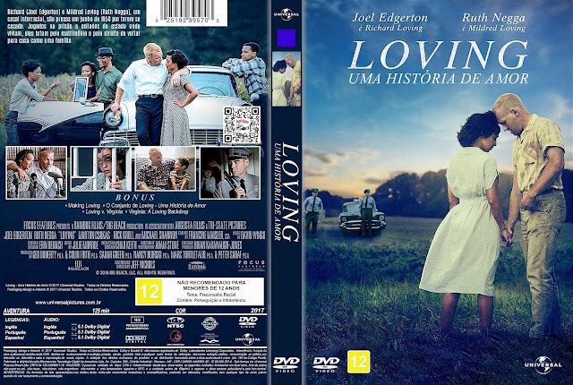 Capa DVD Loving Uma História de Amor [Custom]