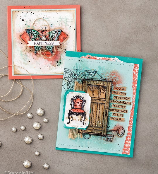 In This World Stamp Set, Stampin' Up!