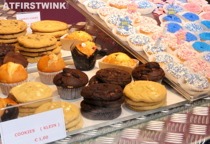 cookies and muffins | Markthal in Rotterdam