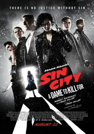 Sin City: A Dame to Kill For 2014 Dual Audio BRRip 1080p Hindi English
