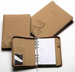 In sổ bìa da kéo khóa cao cấp - Xưởng sản xuất sổ da Vietbook