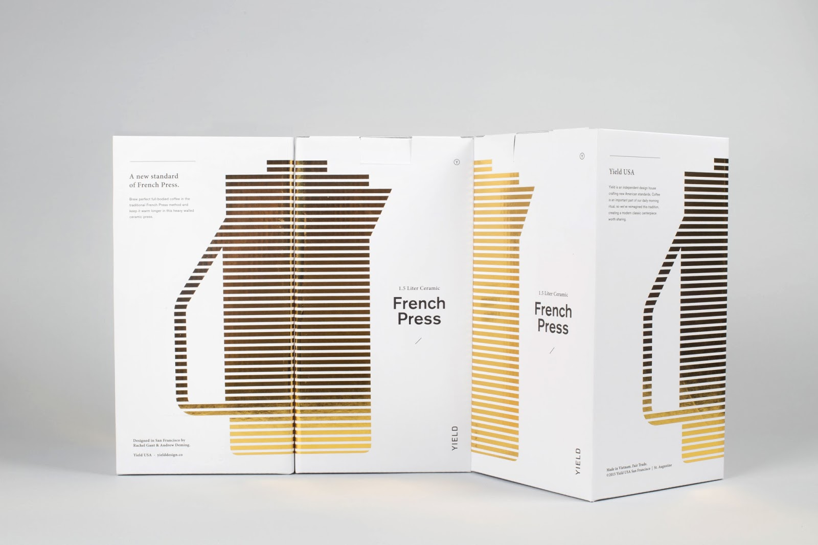 Yield French Press On Packaging Of The World Creative