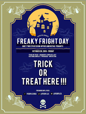 Halloween Event at Prism Plaza SM Mall of Asia