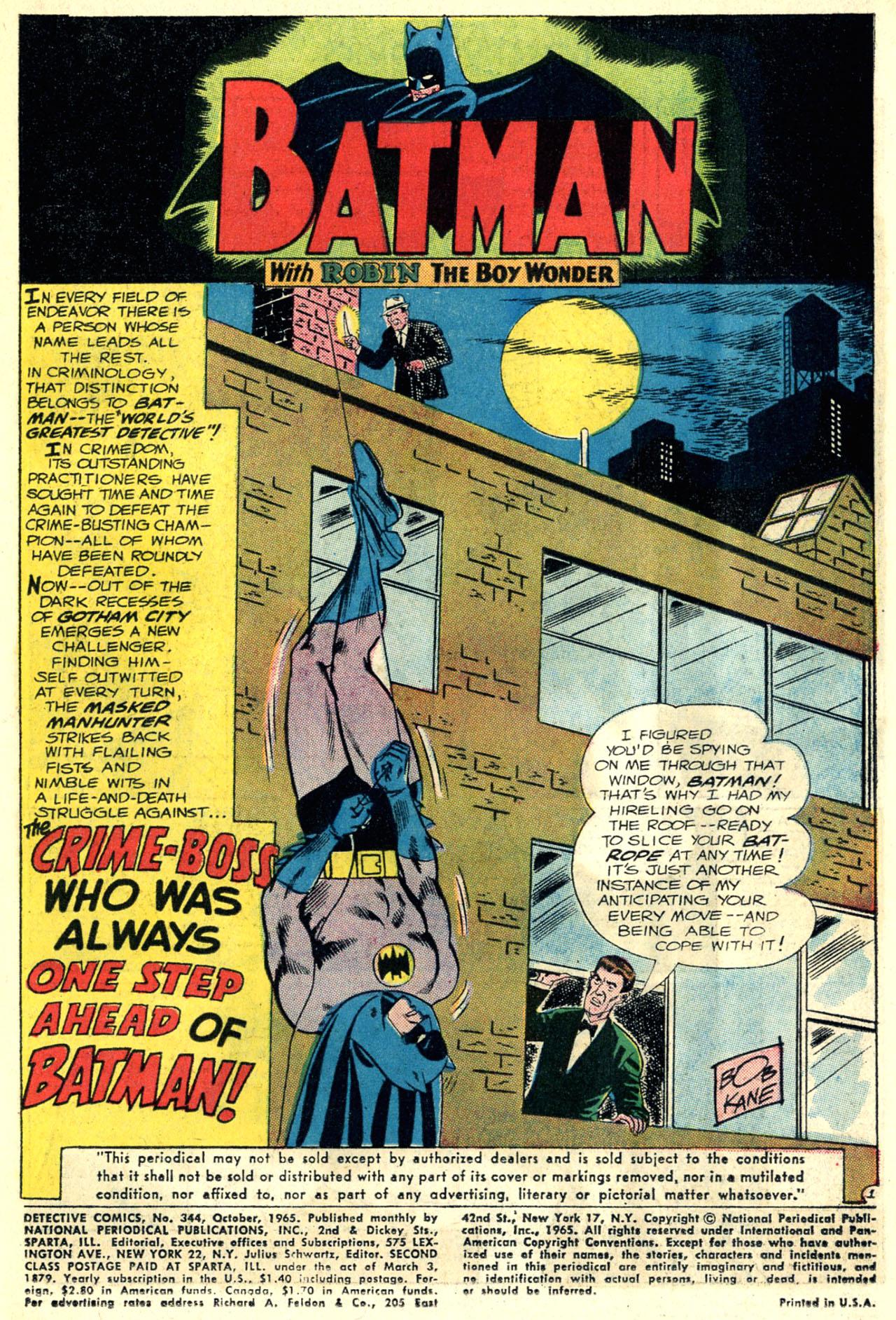 Detective Comics (1937) 344 Page 2