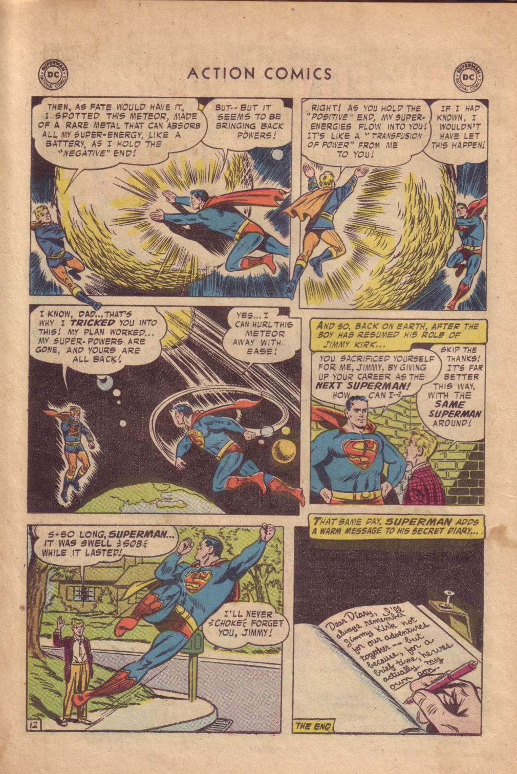 Read online Action Comics (1938) comic -  Issue #232 - 14
