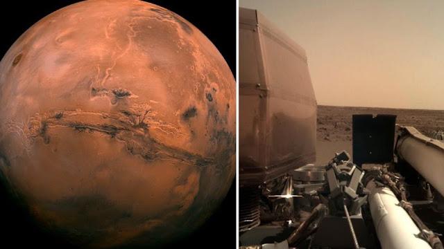 Οι πρώτες φωτογραφίες του InSight από τον Άρη