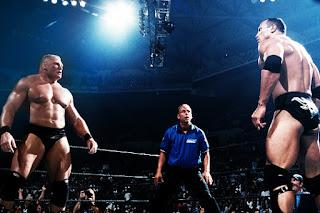 The Rock vs. Brock 1