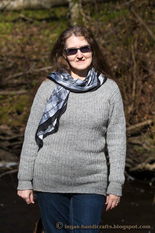 Ripsiga poolpatentkoes sviiter / Universal Brioche Sweater