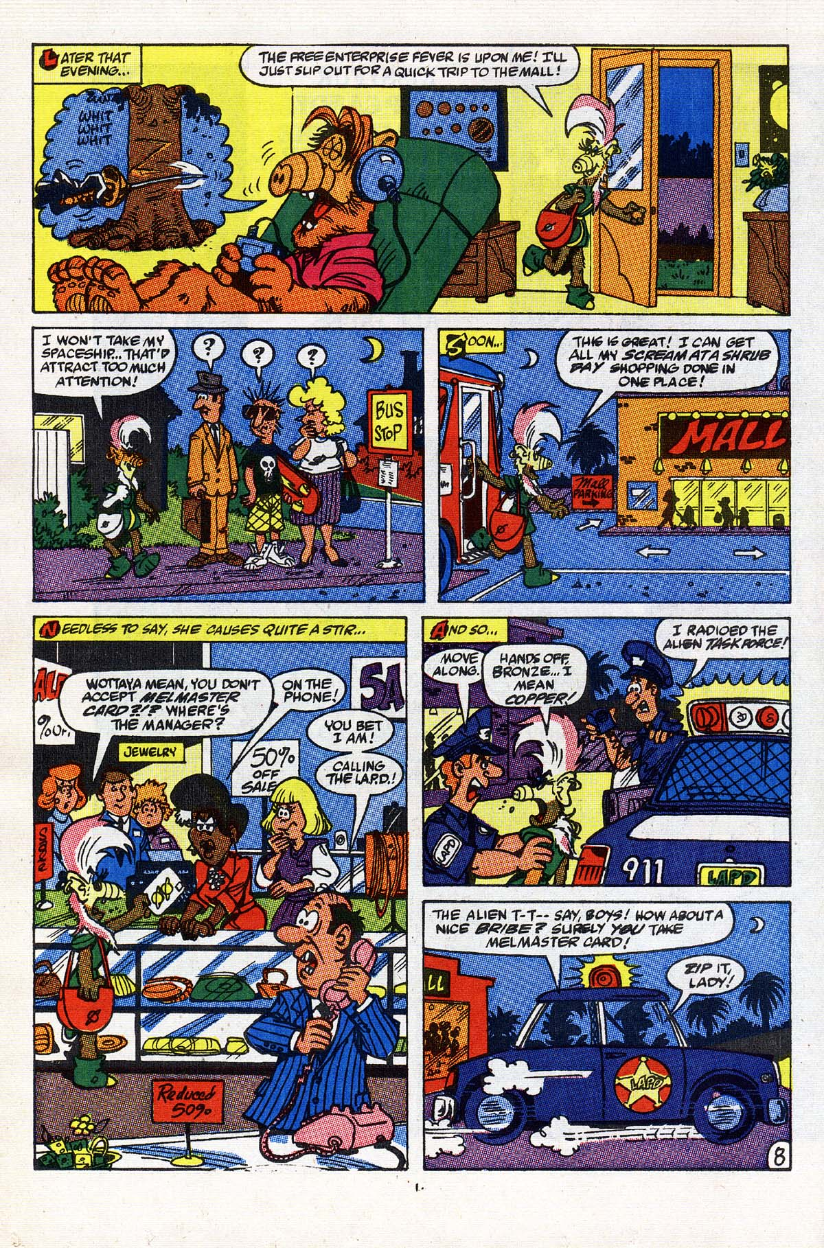 Read online ALF comic -  Issue #24 - 9