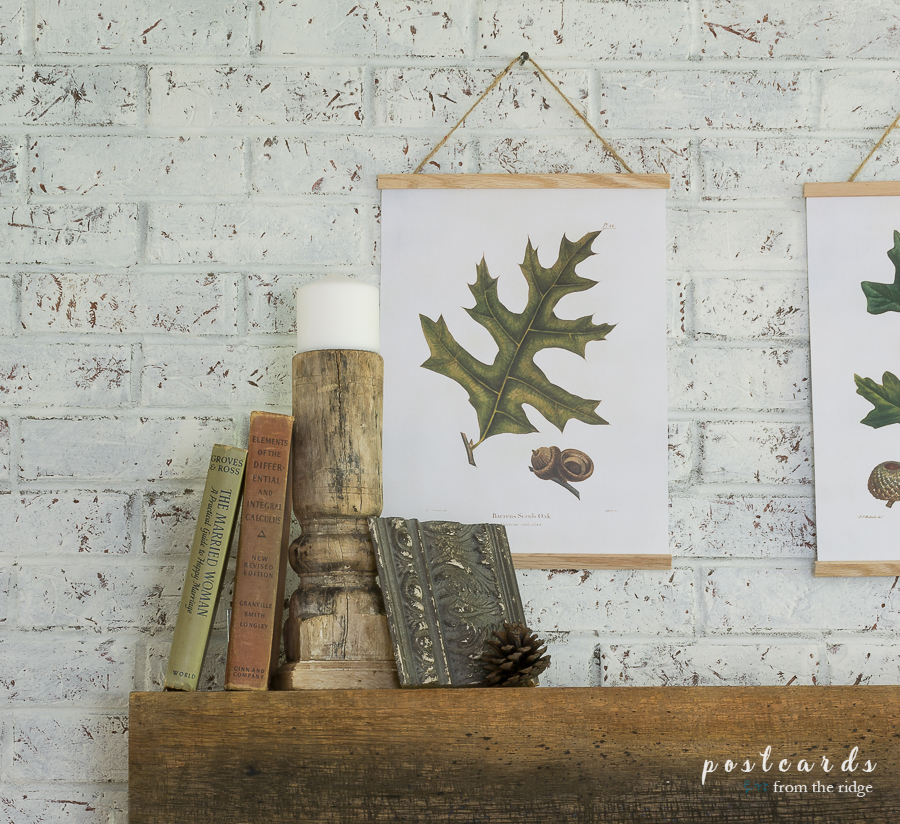 oak leaf printable art