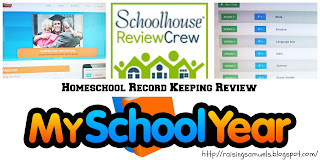 MySchoolYear.com (Homeschool Record Keeping Review)