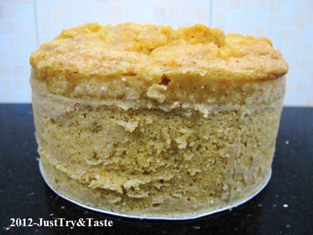 Resep Cake Kukus Kentang: Resep Cake Kukus Ubi Jalar Dengan Frosting Coklat Putih
