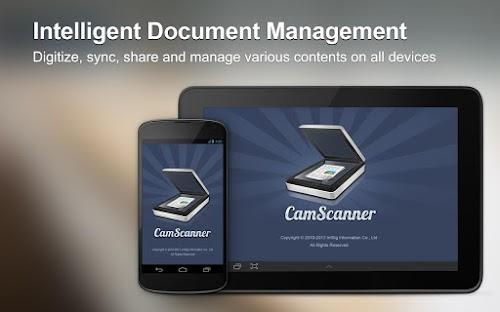 برنامج camscanner تحويل اي وثيقة الى pdf