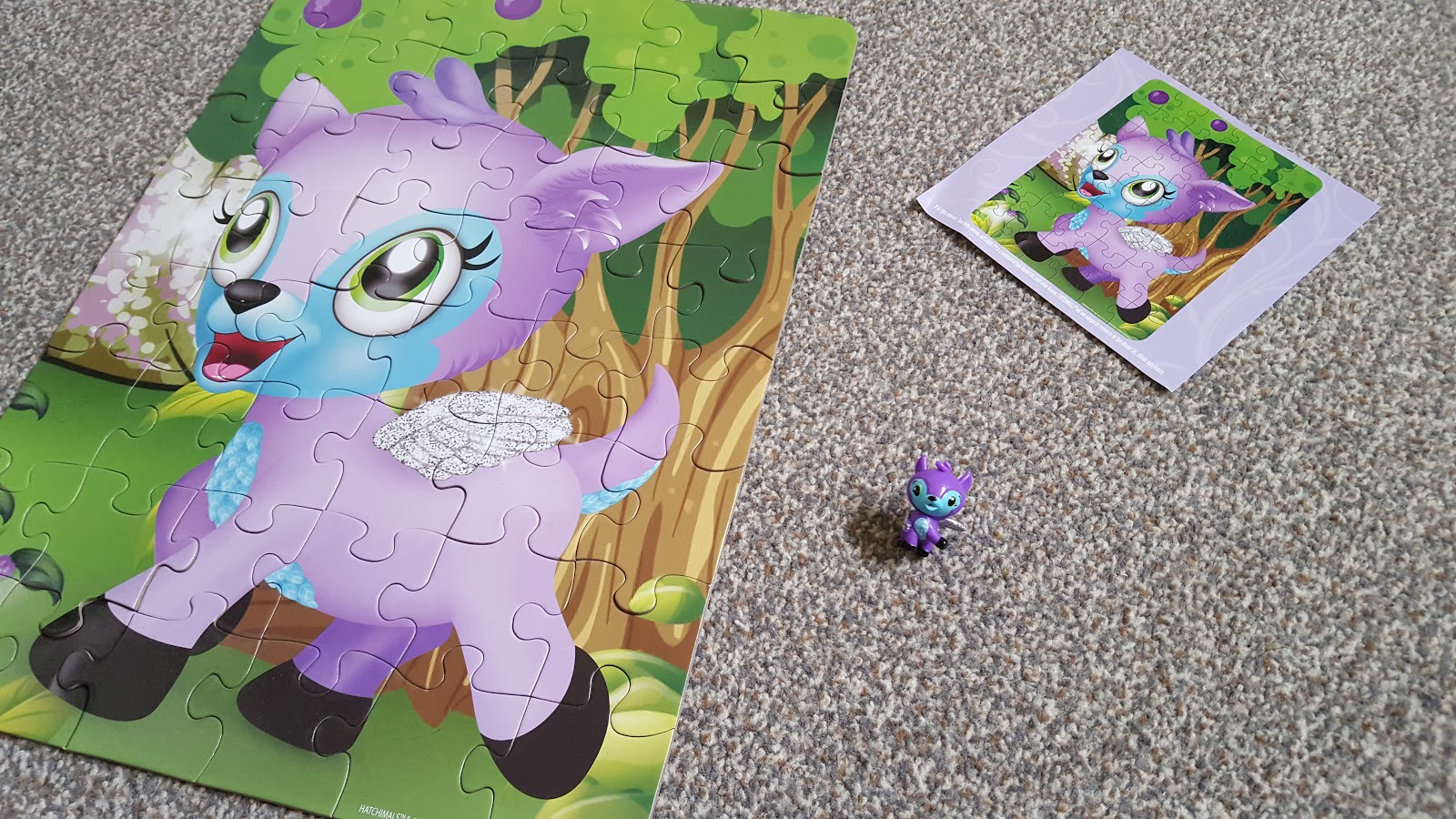 Hatchimal CollEGGtibles Mystery Puzzle Review