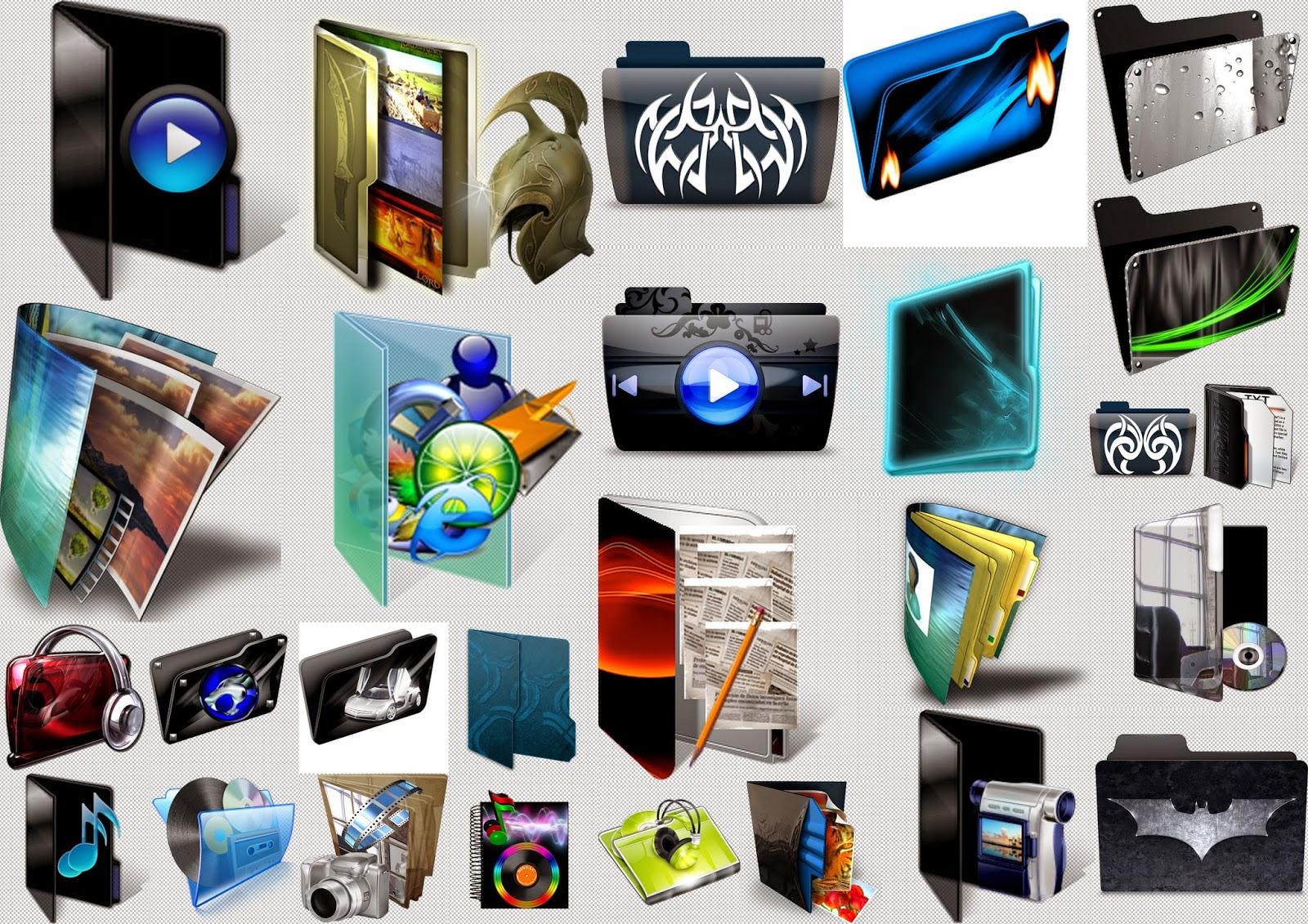 Carpetas Para Windows 7 E Iconos Gratis Youtube Iconos