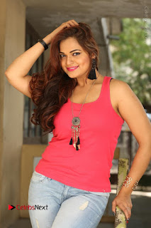 Tollywood Actress Ashwini Latest Stills in Ripped Jeans  0027.JPG