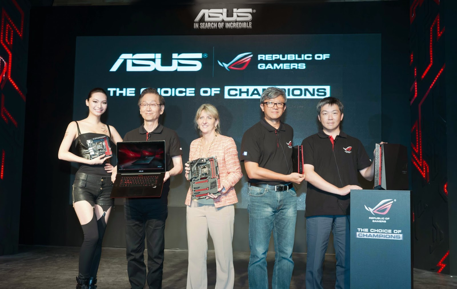 ASUS Republic of Gamers Launches Epic Gaming Equipment at Computex 2014 1