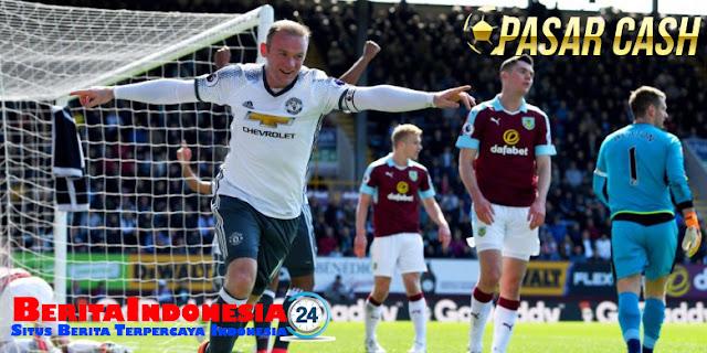 Comeback, Rooney Cetak Gol Bagi Manchester United