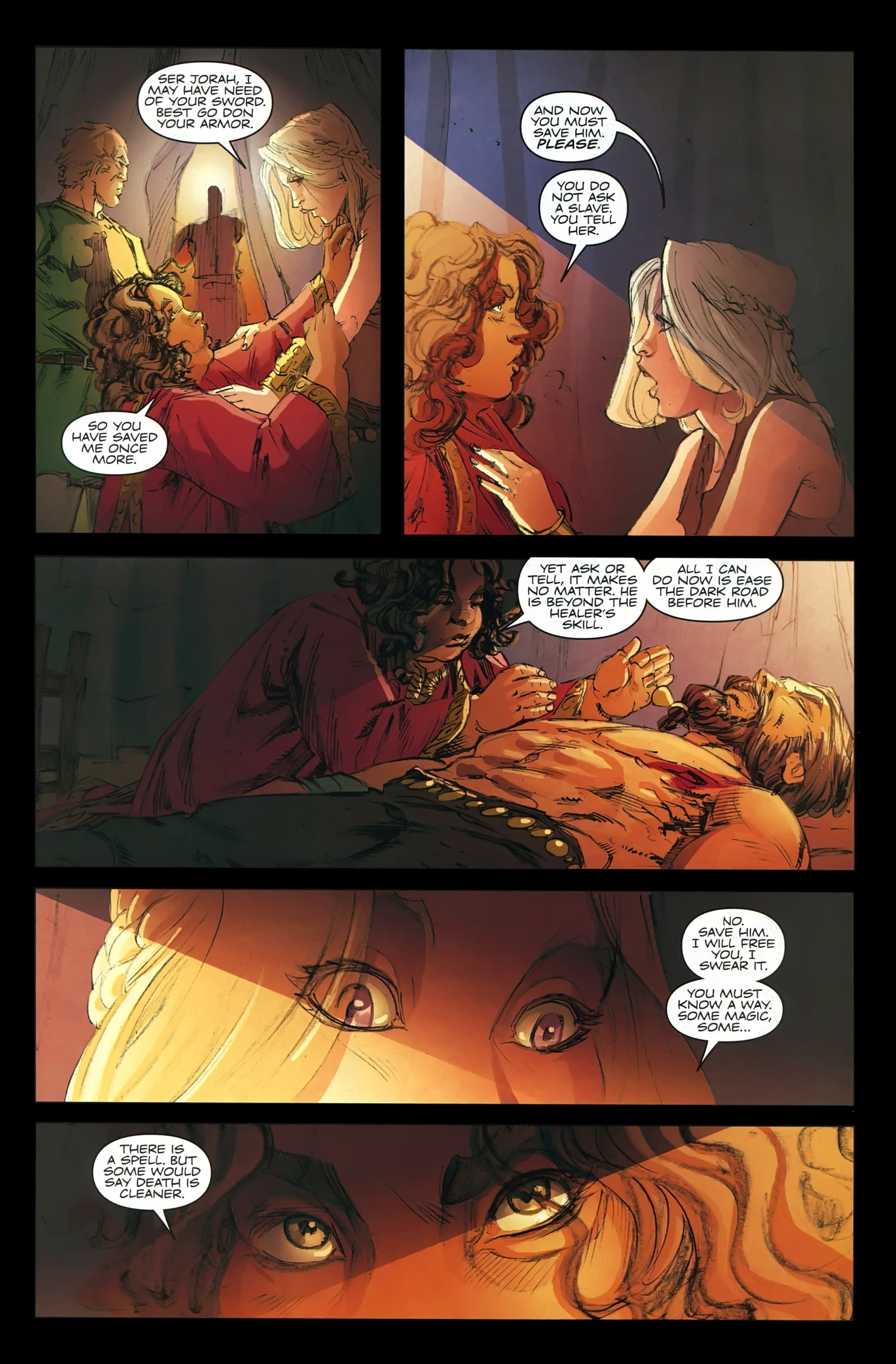 Read online A Game Of Thrones comic -  Issue #22 - 23