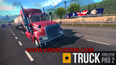 Download Truck Simulator PRO 2 Mod Apk + Data Premium v1.5.8 (Unlimited Money) Terbaru 2017