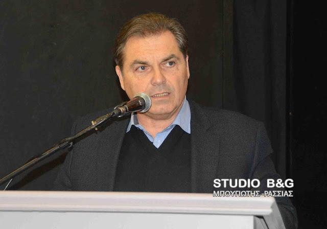 Δήμαρχος Άργους Μυκηνών Δημήτρης Καμπόσος: «Εμπαίζουν τους πολίτες με δήθεν έργα στον αθλητισμό»