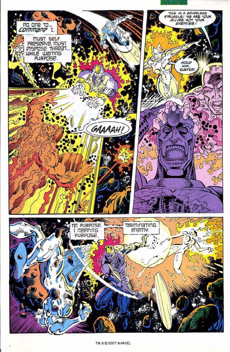 Read online Silver Surfer (1987) comic -  Issue #73 - 27