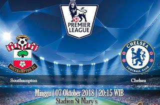 Prediksi Southampton vs Chelsea 7 September 2018