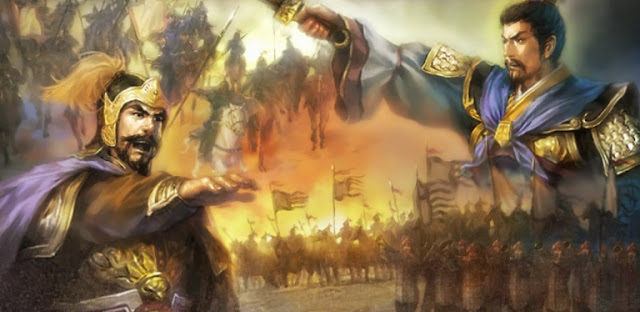 Chapter 30 : Shunning Advice, Yuan Shao Loses Leaders and Granaries; Using Strategy, Cao Cao Scores Victory At Guandu.