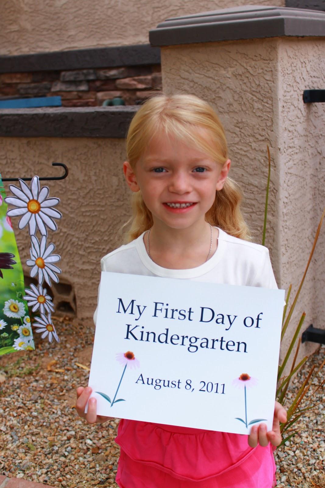 Kinder Garden: Mimi Marie Photography: {Family} First Day Of Kindergarten
