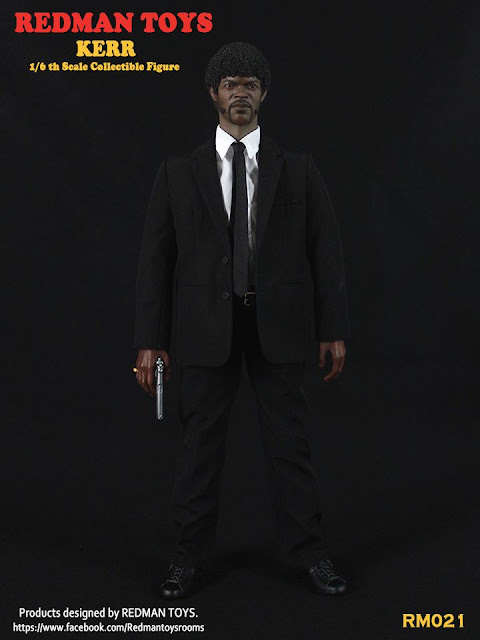 osw.zone Redman Toys RM021 1 / 6. Scale Kerr 12-inch collector figure - Pulp Fiction Jules Winnfield